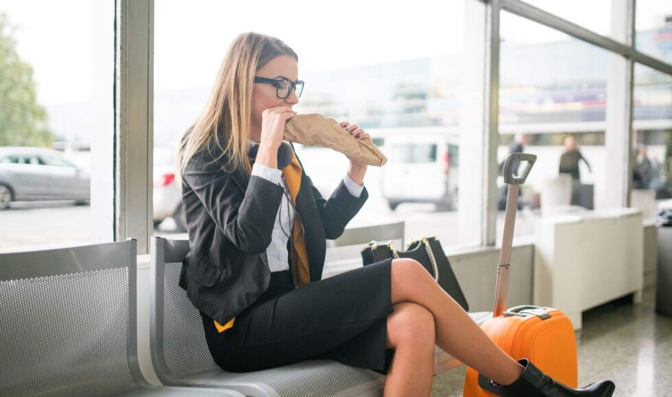 Si può portare cibo in aereo?